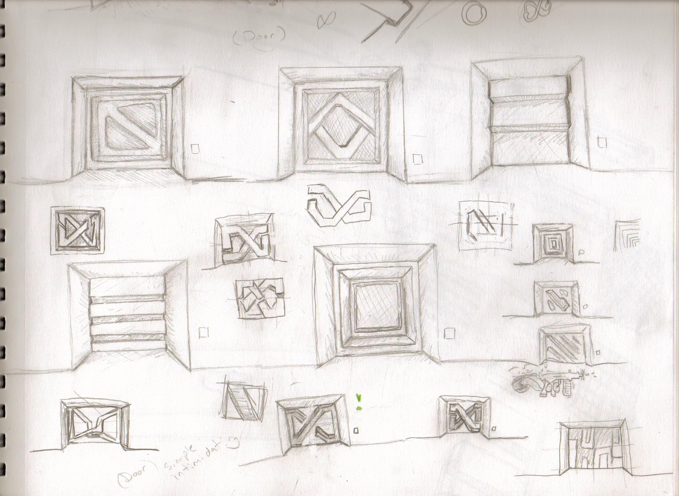 Concept Art Dump 2 (Doors Lotsa\' Doors)