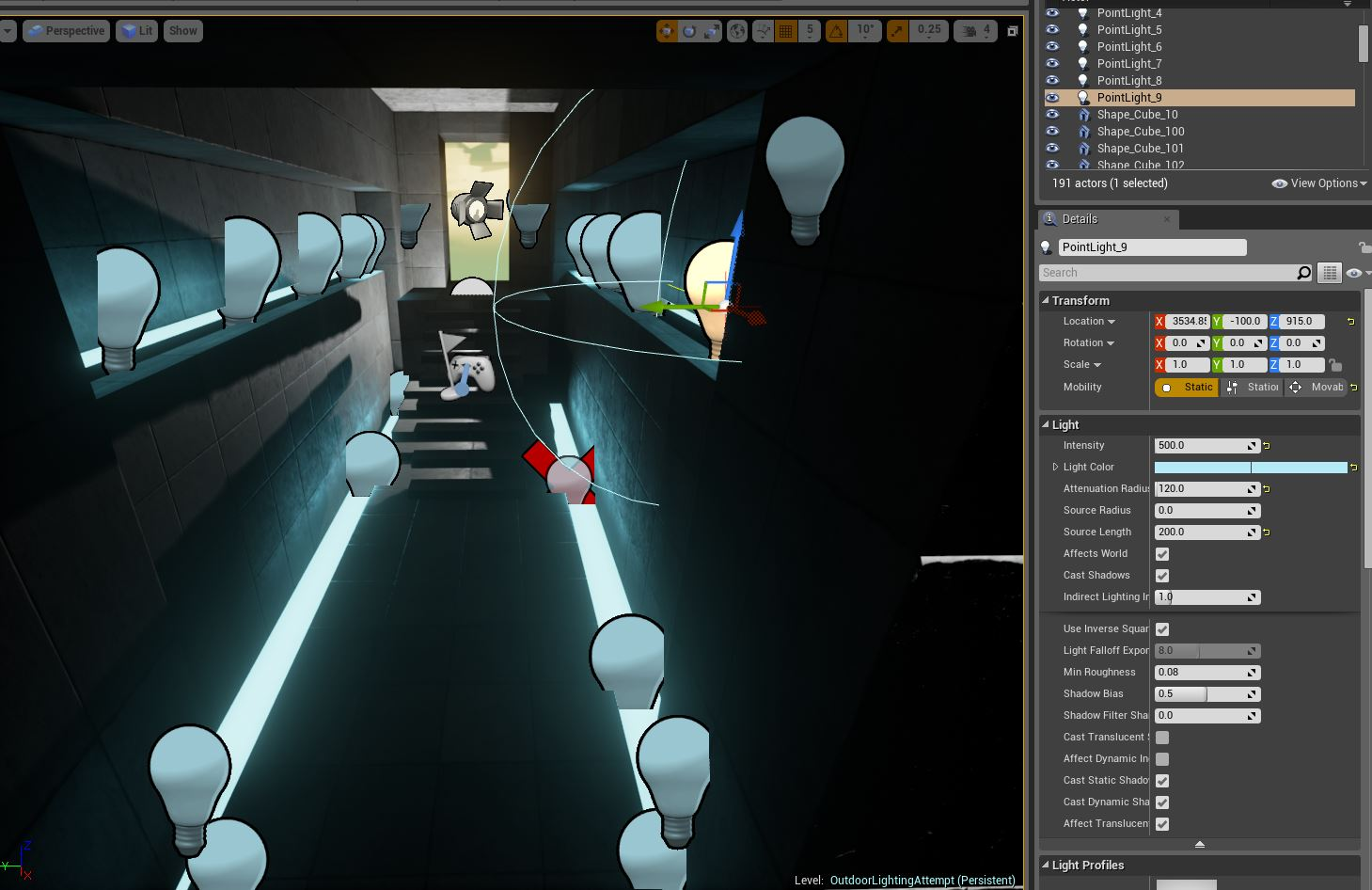 A Lighting and Post Processing Study in Unreal Engine 4