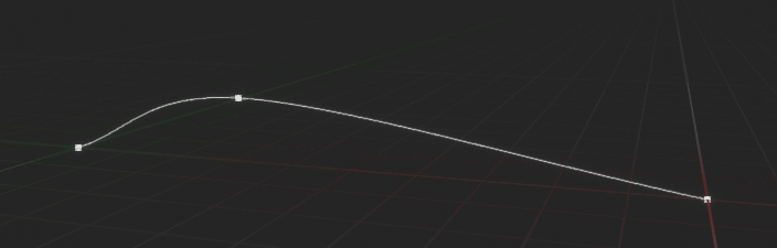 Spline with smooth curve